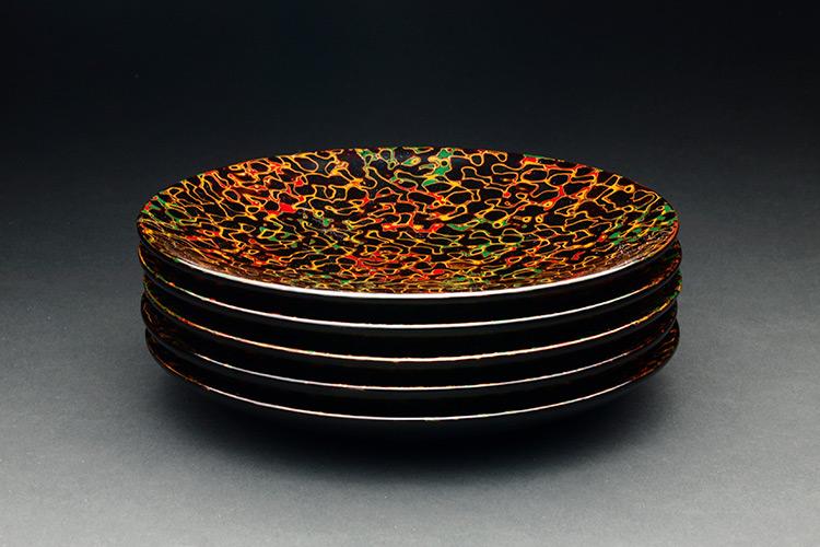 津軽塗 銘々皿製品